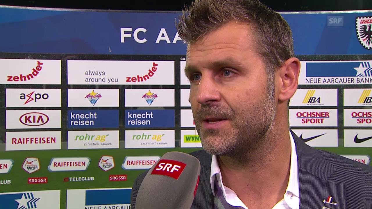 Fussball: Super League, Interview Sven Christ