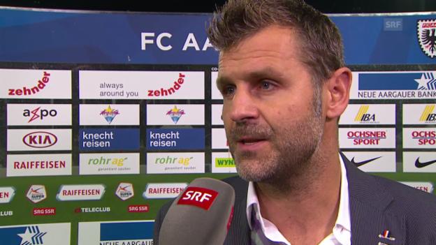 Video «Fussball: Super League, Interview Sven Christ» abspielen