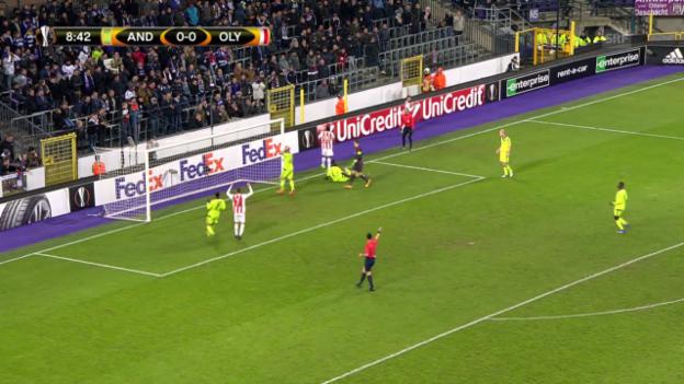 Video «EL: Anderlecht - Olympiakos» abspielen