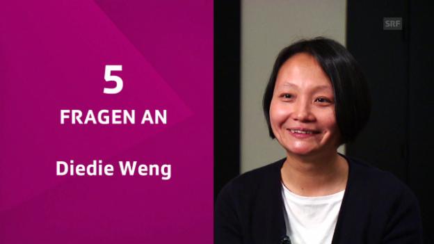 Video «5 Fragen an Diedie Weng» abspielen