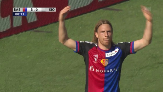 Video «Live-Highlights Basel - Sion» abspielen
