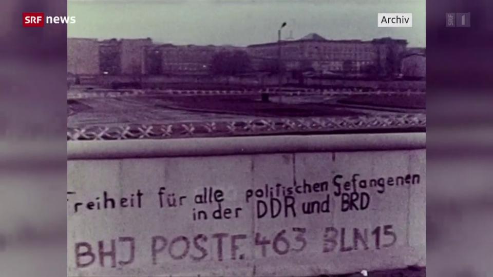 Der Bau des antifaschistischen Schutzwalls