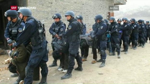 Video «Xi Jingping fährt einen harten Kurs» abspielen