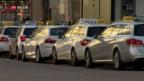 Video «Bundesgericht pflügt die Schweizer Taxi-Branche um» abspielen
