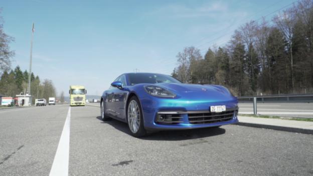 Video «Porsche Panamera 4S Diesel» abspielen