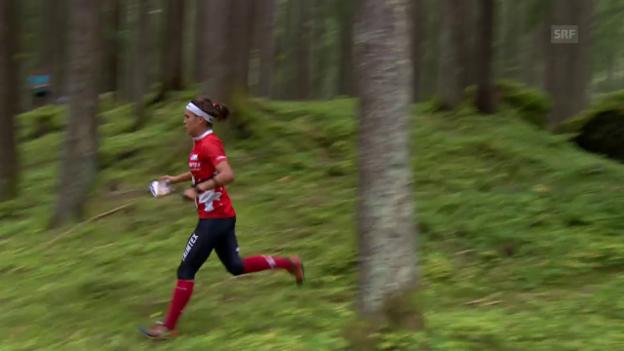 Video «Roos wird über die Mitteldistanz Zweite» abspielen