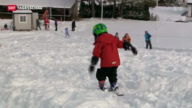 Video «Positive Zwischenbilanz der Skigebiete» abspielen