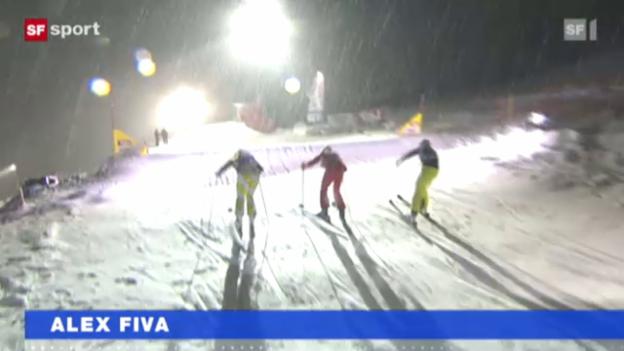 Video «Fivas Siegpremiere im Schneegestöber» abspielen