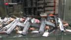 Video «Schweizer rüsten mit eigenen Waffen auf» abspielen