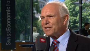 Video «SEF-Interview mit Hans Hess, Swissmem-Präsident» abspielen