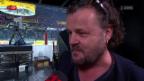 Video «Büne Hubers flammendes Plädoyer für Eishockey und gegen Fussball» abspielen
