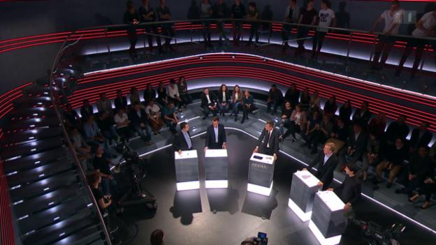 Video «Arena: Jungparteien zur Wahl» abspielen