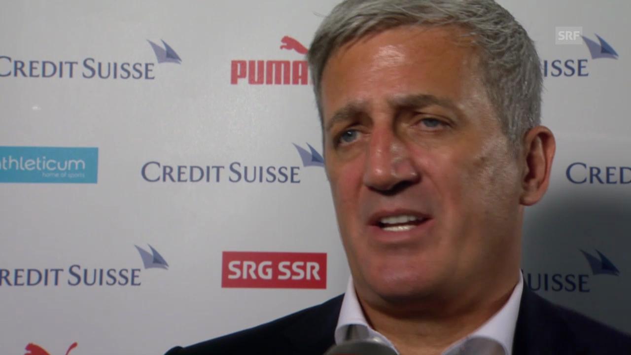 Fussball: Nationalmannschaft, Interview mit Vladimir Petkovic