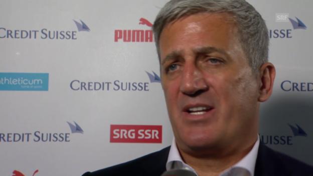 Video «Fussball: Nationalmannschaft, Interview mit Vladimir Petkovic» abspielen