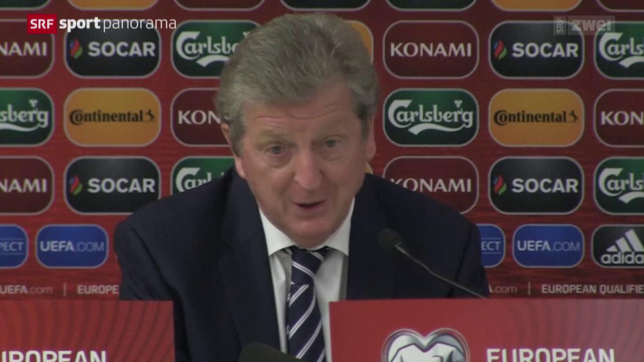 Fussball: England vor dem Schweiz-Spiel