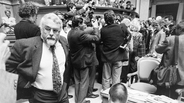 Die Geschichte hinter der Bundesratswahl 1993.