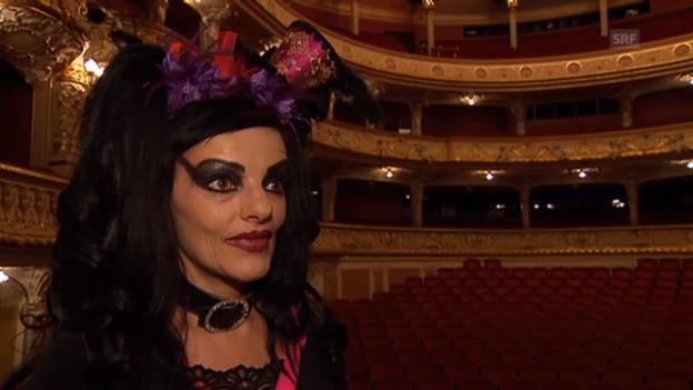 Video «Nina Hagen über Zürich, Charity und Drogen» abspielen