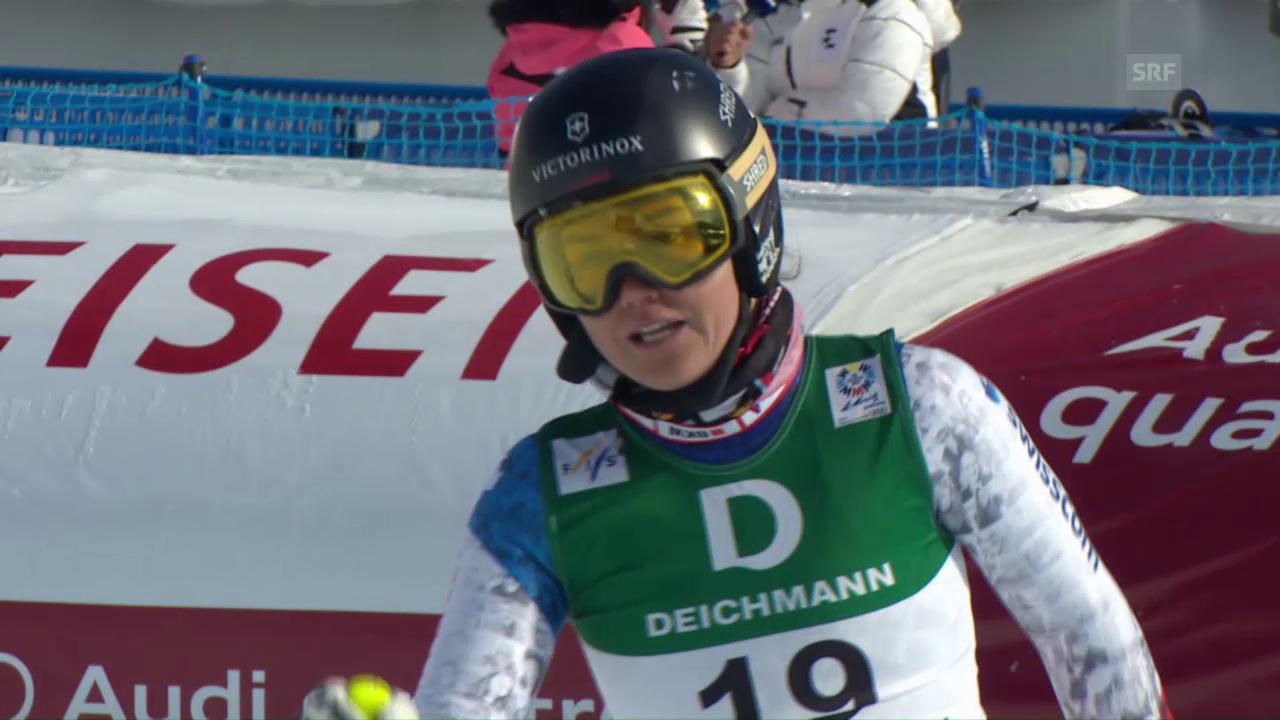 Fabienne Suter auch im 2. Training bei den Schnellsten