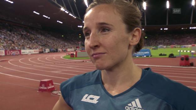 Video «Nicole Büchler im Interview» abspielen