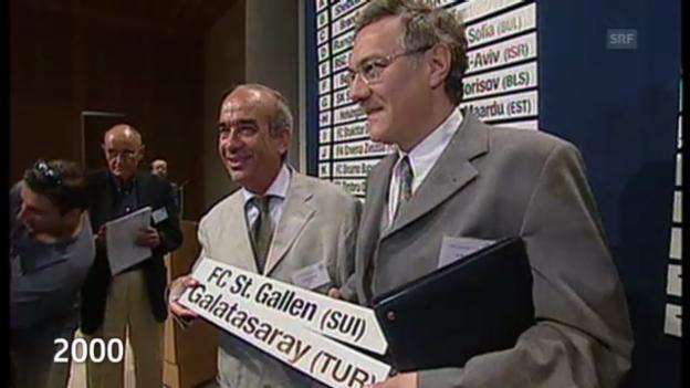 Video «Die letzten St. Galler Europacup-Auftritte» abspielen