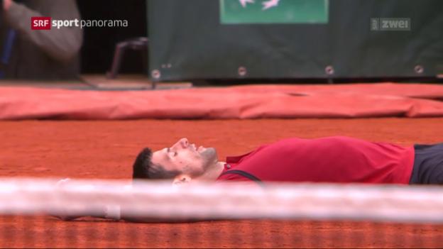 Video «Djokovic schreibt mit French-Open-Triumph Geschichte» abspielen