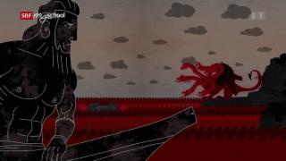 Video «Odyssee animiert: Skylla und Charybdis (11/14)» abspielen