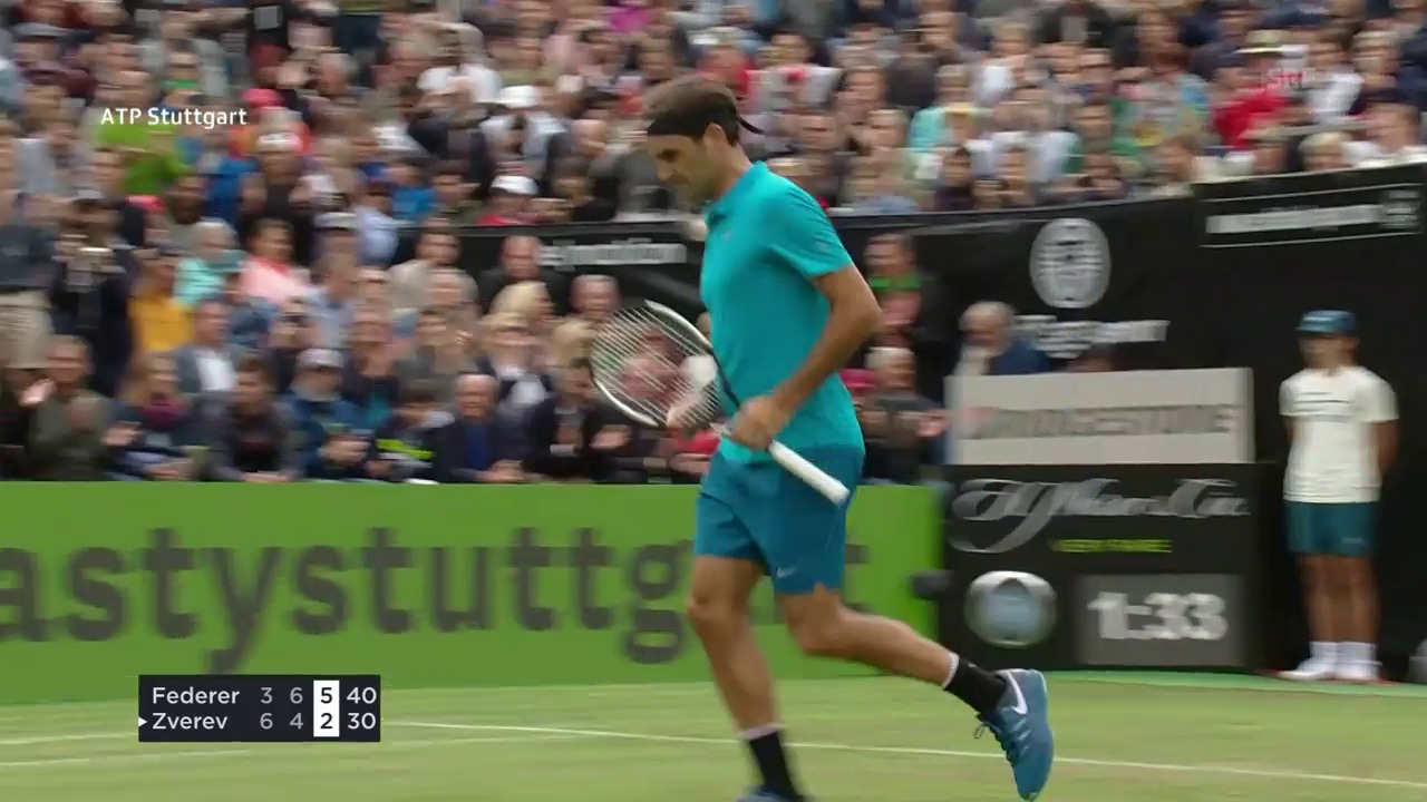 Die Live-Highlights bei Federer-Zverev