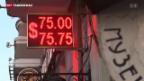Video «Der Rubel serbelt» abspielen