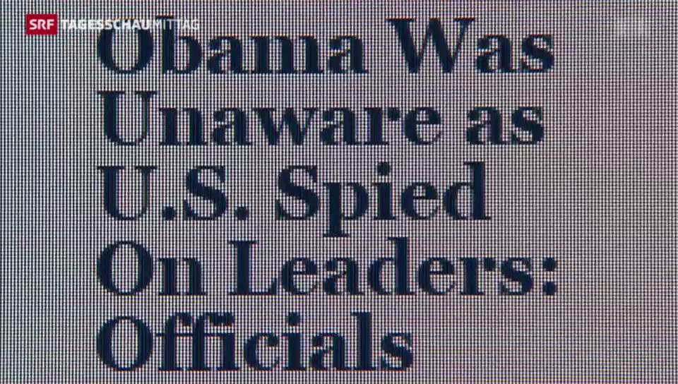 Obama wusste nichts. Stimmen dazu beidseits des Atlantiks