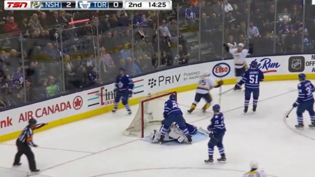 Video «NHL: Toronto - Nashville» abspielen