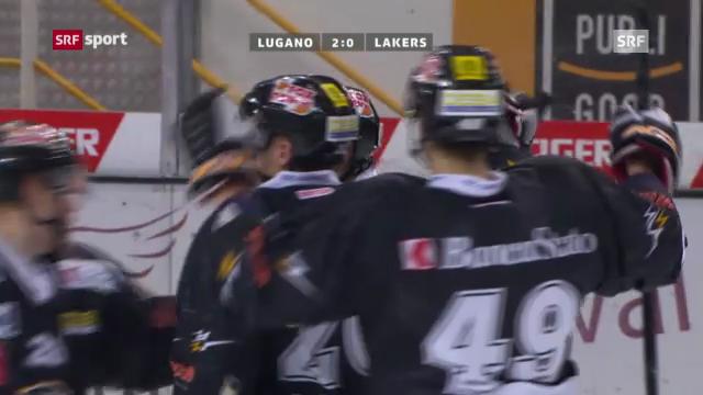 NLA: Lugano - Lakers