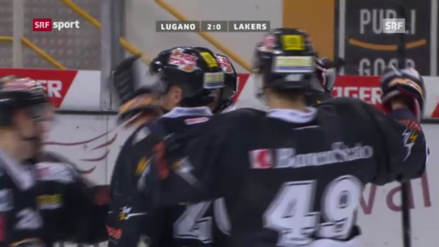 Video «NLA: Lugano - Lakers» abspielen