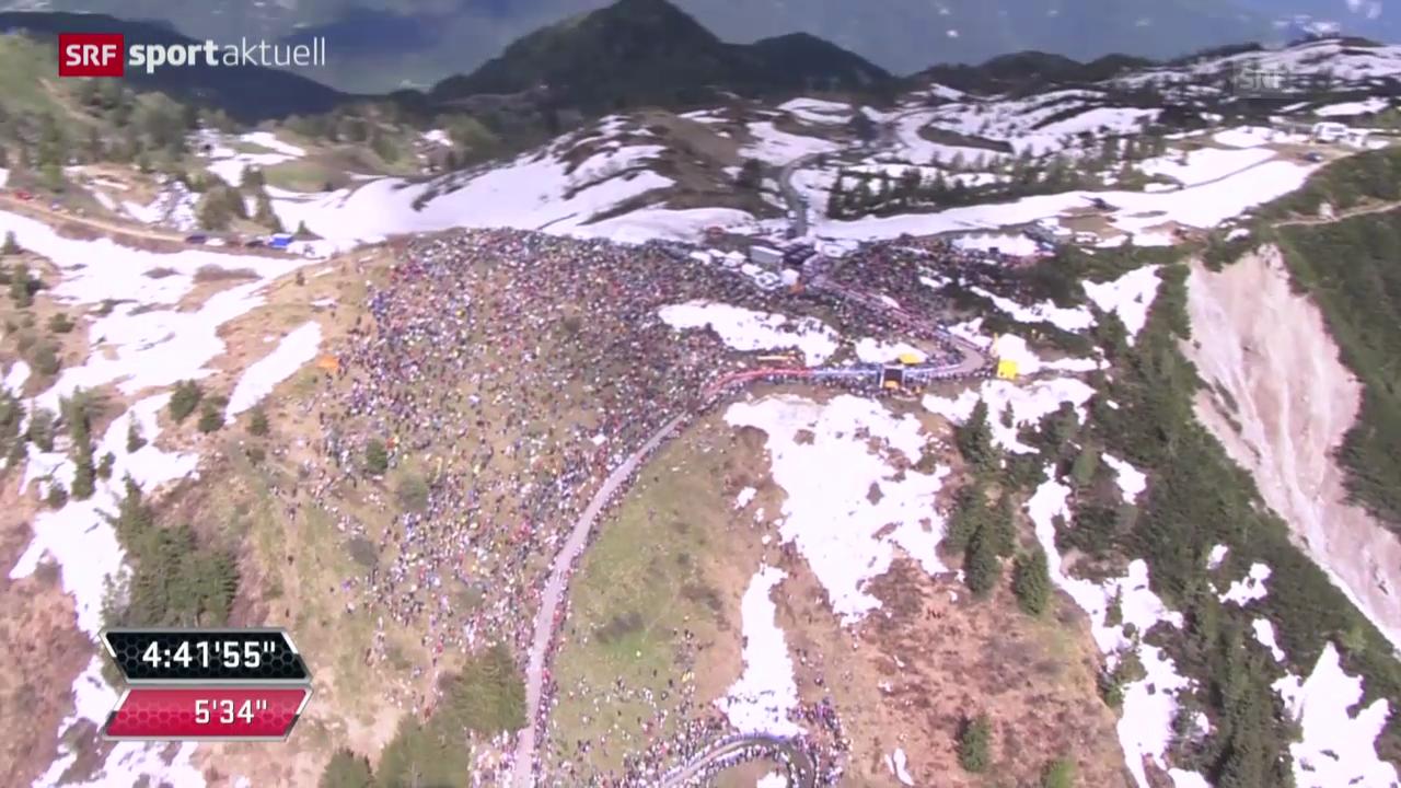 Rad: Giro, 20. Etappe