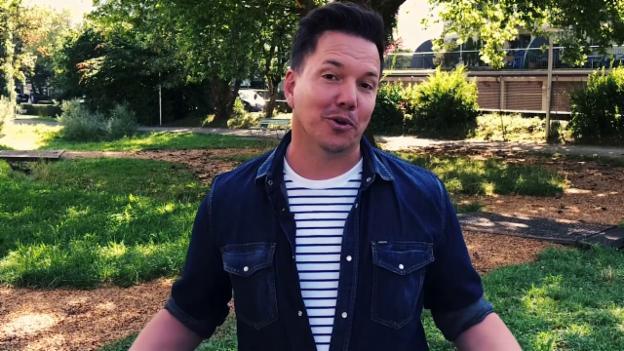 Video «3 Fragen an Sven Epiney zu seinen zwei Dialekten» abspielen