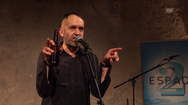 Video «Joke Lanz (Art's Birthday, Cabaret Voltaire, 2016)» abspielen