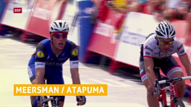 Video «Meersman doppelt in der Vuelta nach» abspielen