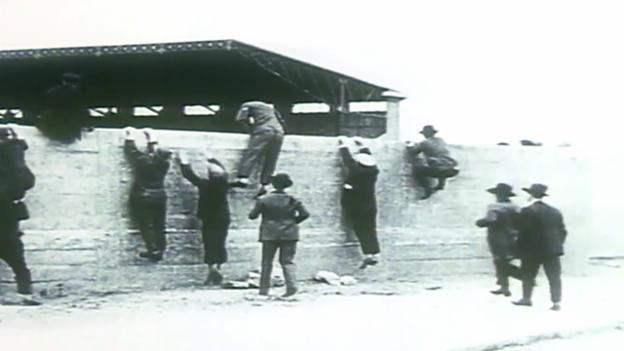 Video «Olympia: Bilder von der Eröffnungszeremonie 1924» abspielen