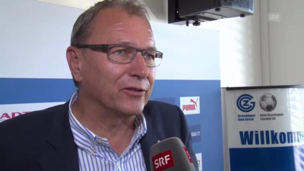 Video «Interview mit GC-Präsident André Dosé» abspielen
