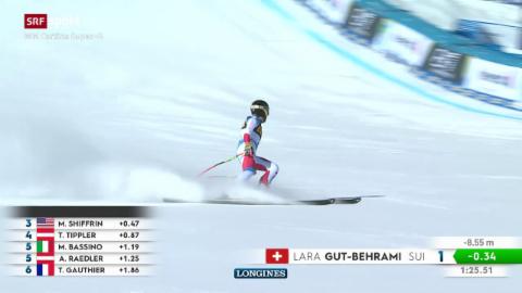 Lara Gut-Behrami va per aur