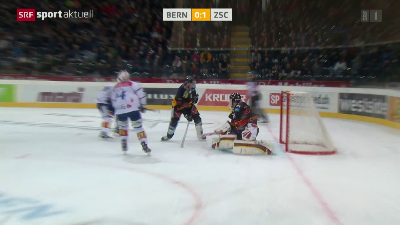 Eishockey: NLA, Bern - ZSC Lions