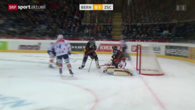 Video «Eishockey: NLA, Bern - ZSC Lions» abspielen