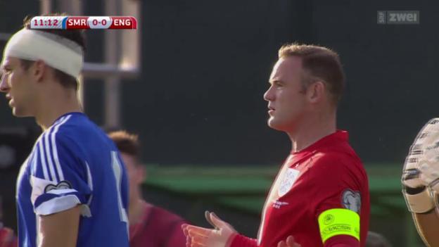 Video «Fussball: EM-Quali, San Marino - England» abspielen