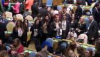 Video «Studierende üben sich in Diplomatie» abspielen