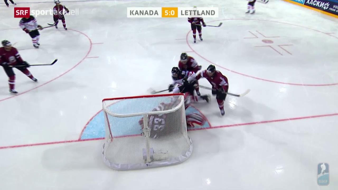 Eishockey-WM: Kanada - Lettland