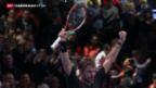 Video «Wawrinka trifft auf Federer» abspielen