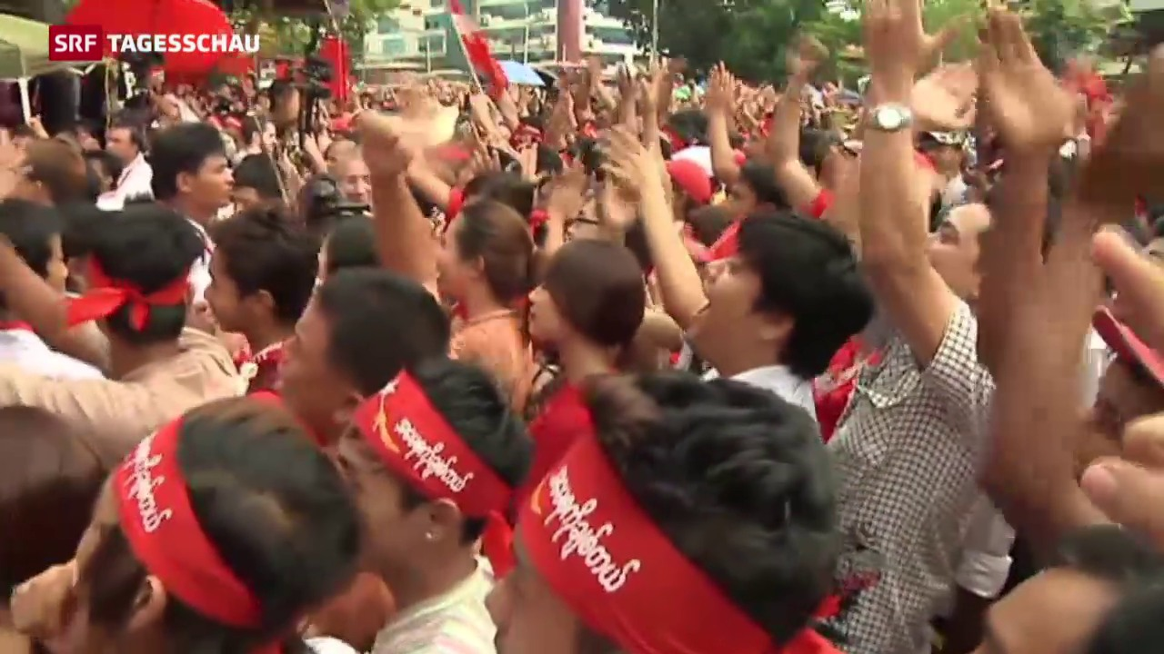 Burma: Opposition vor dem grossen Sieg