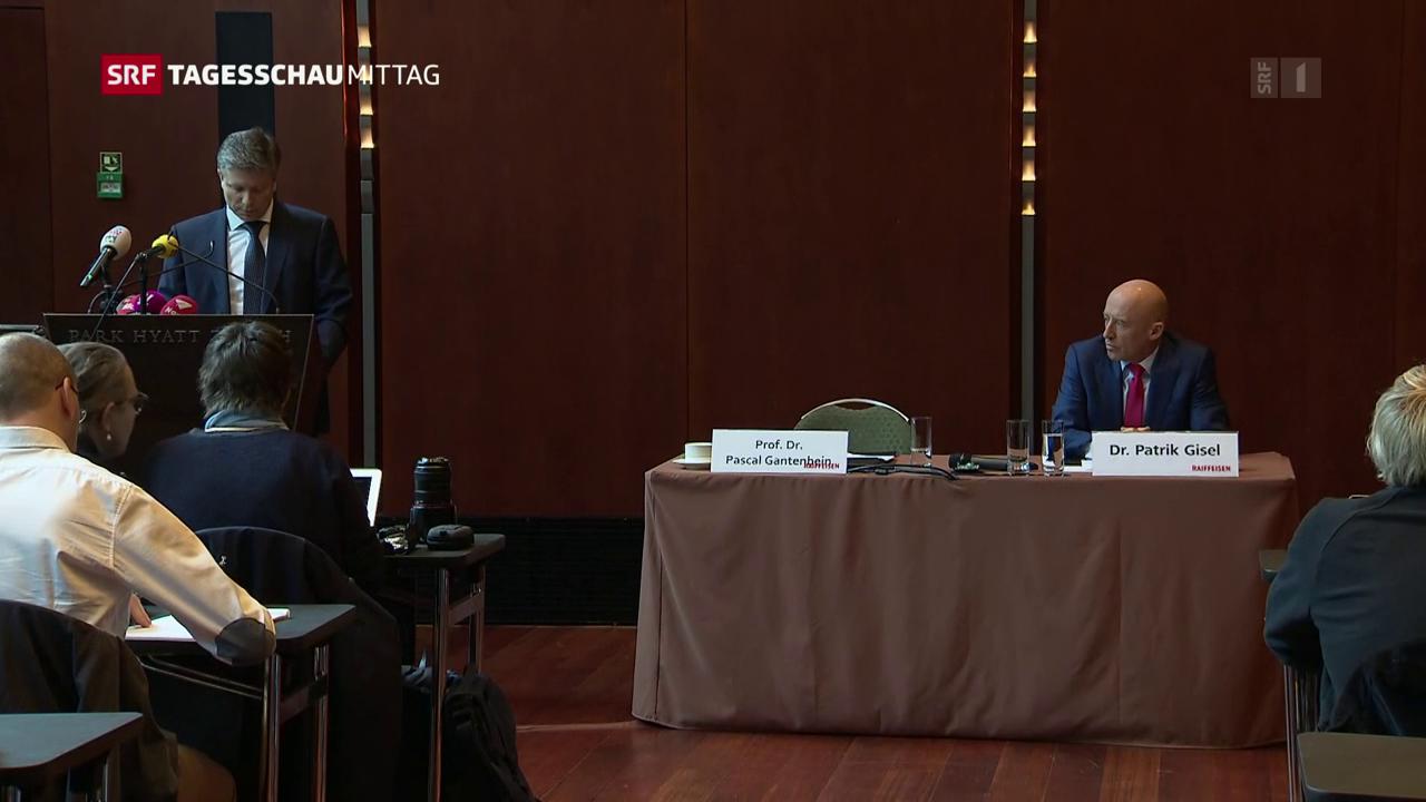Raiffeisen Bank stellt sich hinter CEO Gisler