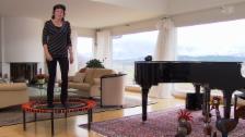 Video «Trampolinspringen für die Gesundheit» abspielen