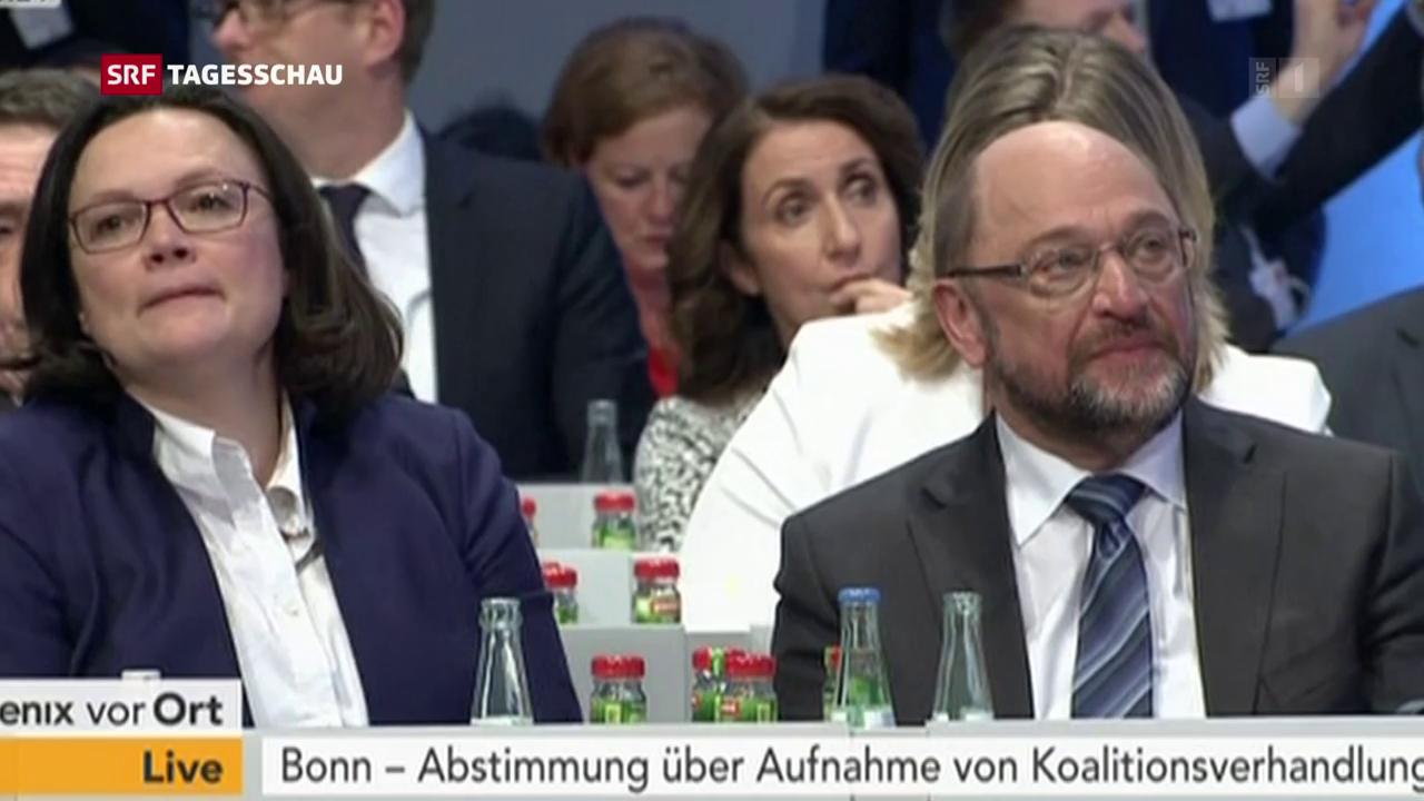 Martin Schulz hat sich durchgesetzt