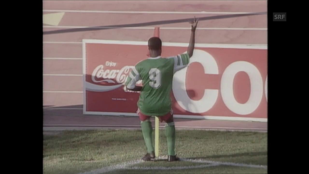Roger Milla - der Tänzer der WM 1990